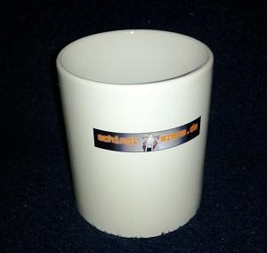 Bedruckte Tasse mit Logo